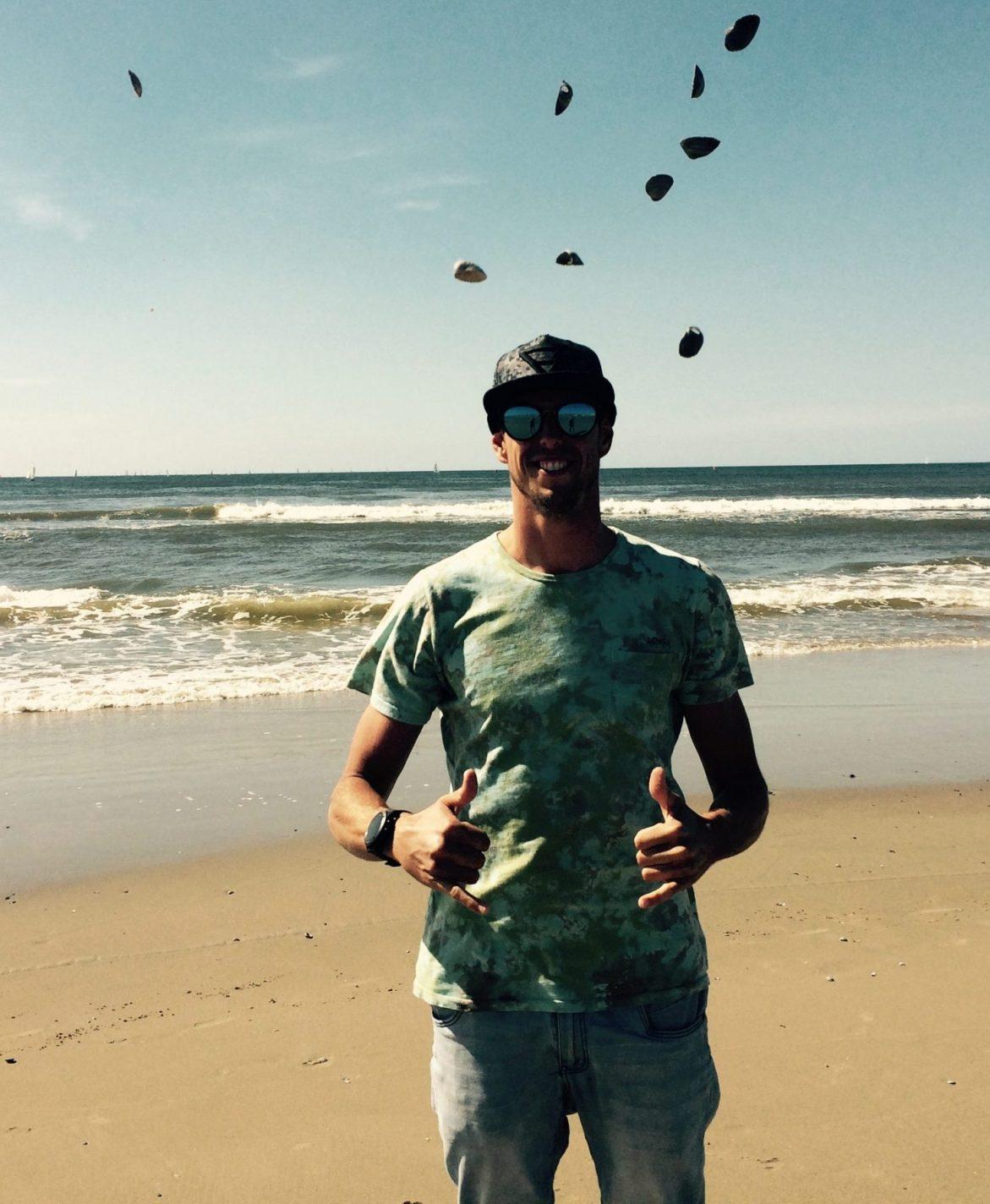 Making off video Trash Hunters Plastic Soup Foundation met Dorian van Rijsselberghe op Texel