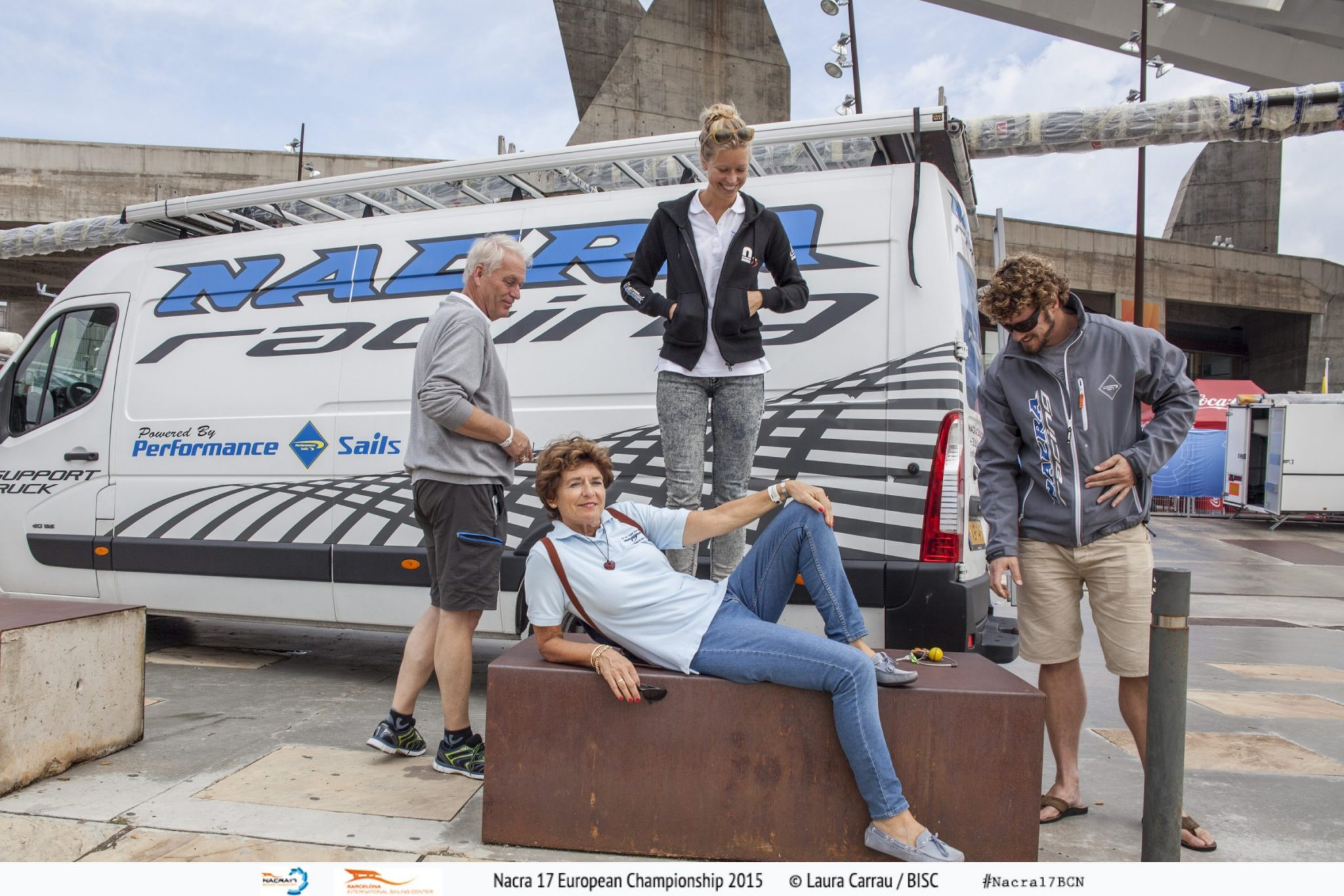 Hestag International - Working at the Nacra17 European Championships in Barcelona