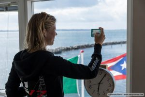 Working in Denmark at the Nacra17 World Championships 2015