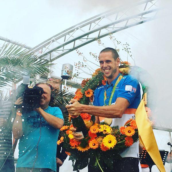 Online Content Manager Tweevoudig olympisch kampioen windsurfen Dorian van Rijsselberghe