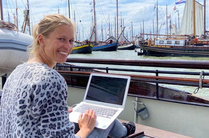 Communicatie Watersportevenement Hestag Media Watersport - Hollandsche Zeilvloot voor Pampus