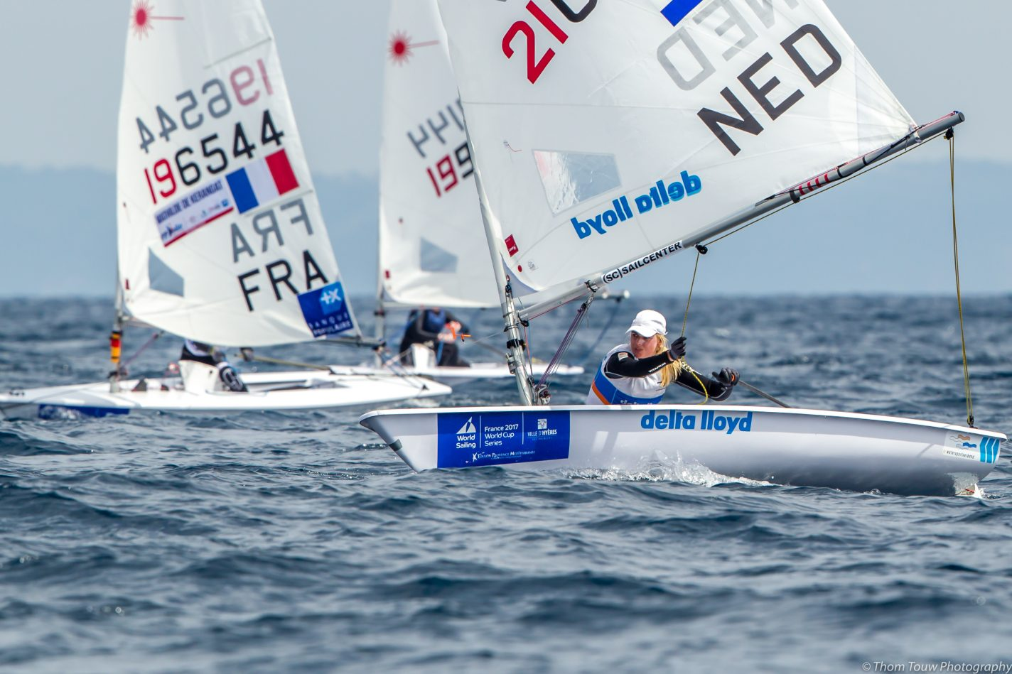 How to follow the Laser Radial World Championships 2017 - Photo Thom Touw - World Sailing's World Cup Series-Hyeres-France