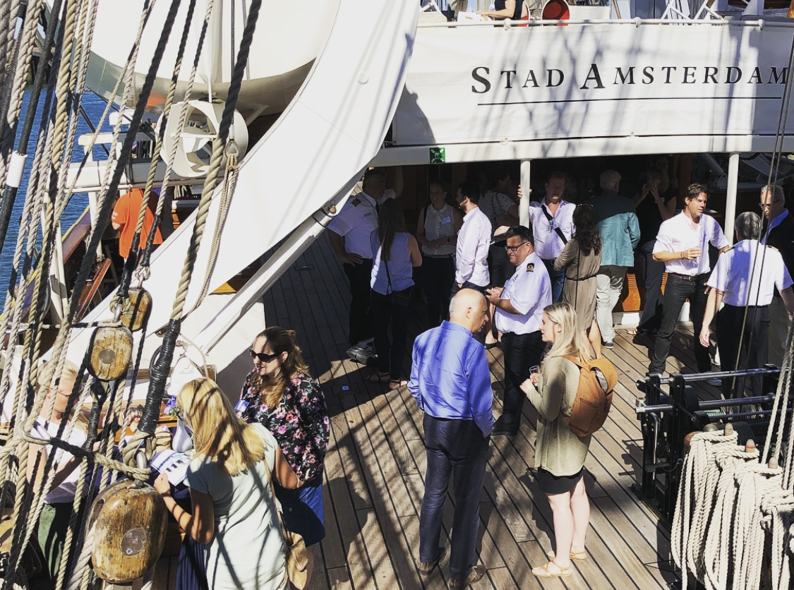 tall ships netwerkontbijt Stad Amsterdam