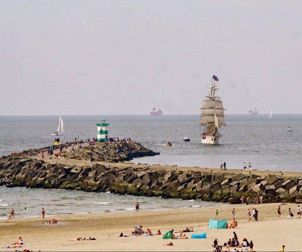 Open Schip Nederlands Tall Ship bark Europa Scheveningen