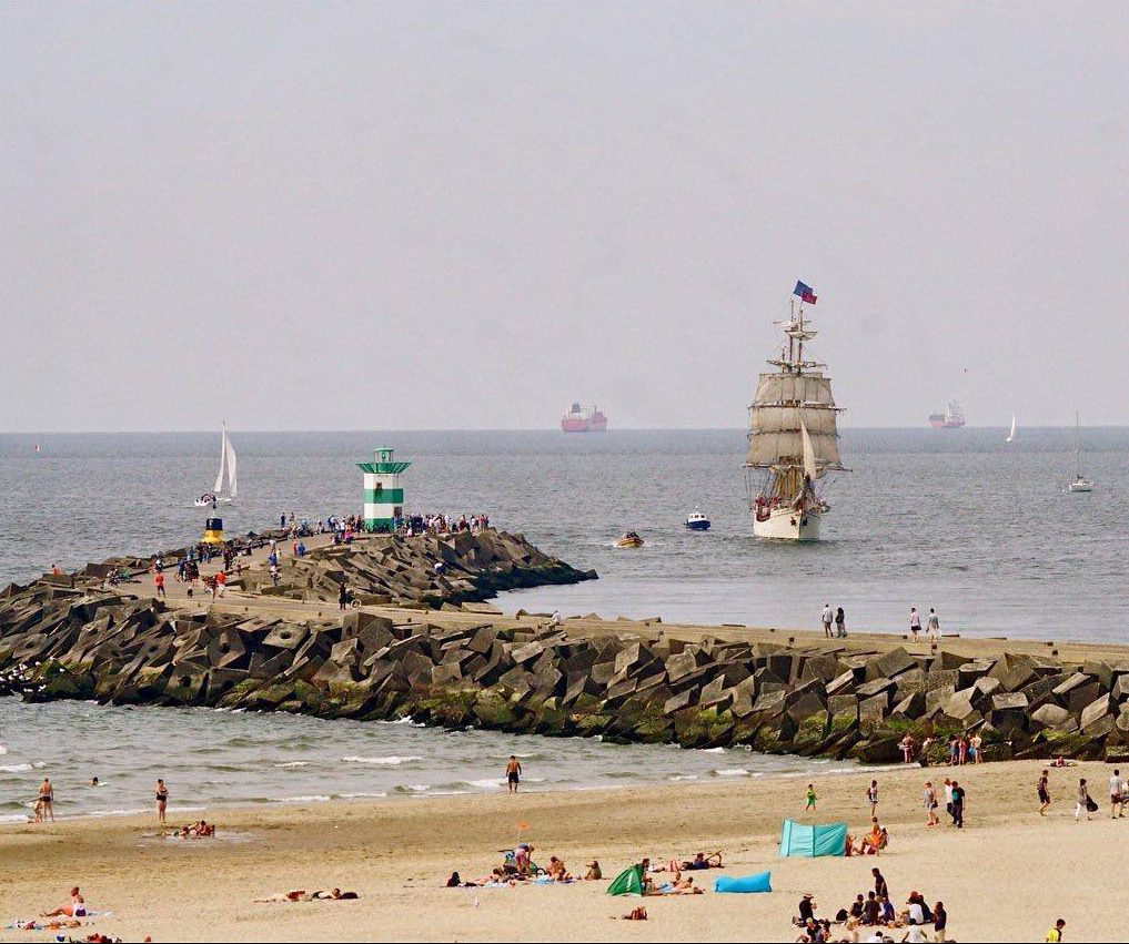 Open Schip Nederlands Tall Ship bark Europa Scheveningen