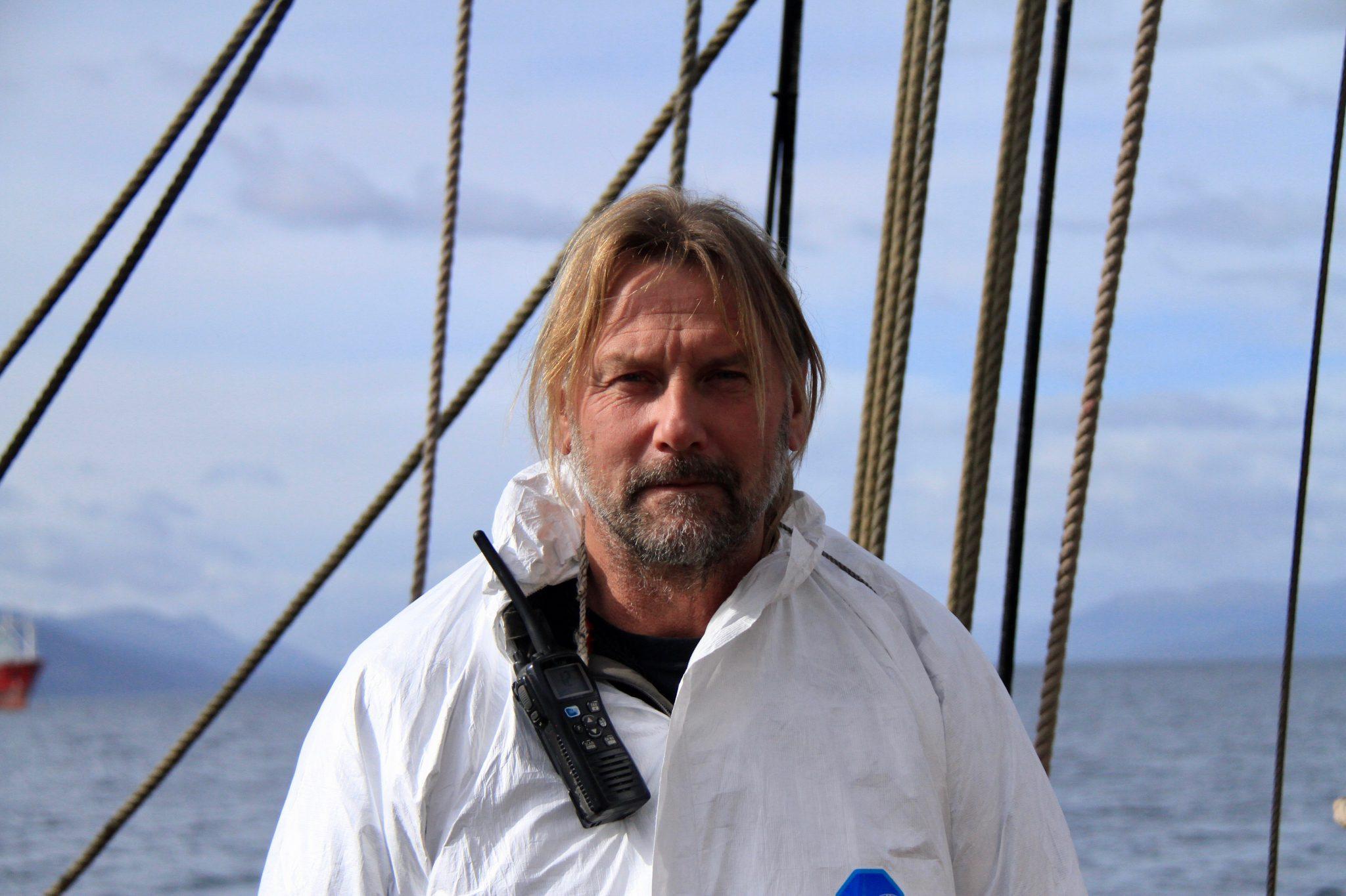 Hestag Media - Bark Europa zeilt door coronacrisis non-stop naar thuishaven Den Haag onder leiding van Nederlandse kapitein Eric Kesteloo