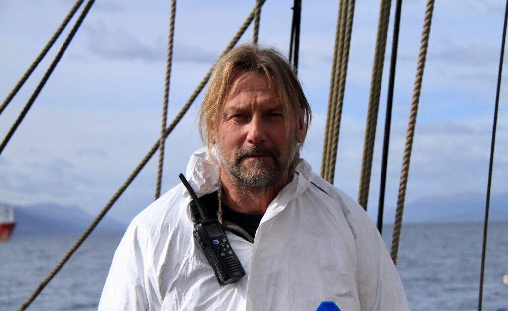 Bark Europa zeilt door coronacrisis non-stop naar thuishaven Den Haag onder leiding van Nederlandse kapitein Eric Kesteloo